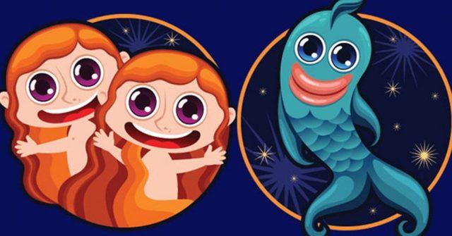 Совместимость Рыб и Близнецов: союз изменчивости и непостоянства