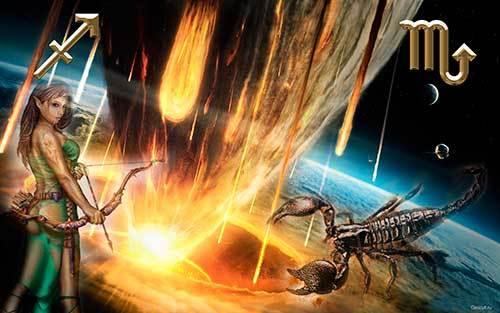 Совместимость Скорпиона и Стрельца: как не потушить пламя любви