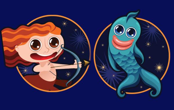 Стрелец и Рыбы: совместимость знаков зодиака в браке и дружбе